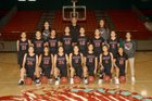 Shiprock Chieftains Girls Varsity Basketball Winter 17-18 team photo.