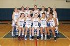 Williamsville South Billies Girls Varsity Basketball Winter 17-18 team photo.