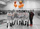 Orange Panthers Girls Varsity Basketball Winter 17-18 team photo.