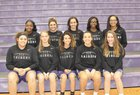 Riverview Raiders Girls Varsity Basketball Winter 17-18 team photo.