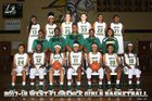 West Florence Knights Girls Varsity Basketball Winter 17-18 team photo.