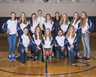 Riverside Christian Crusaders Girls Varsity Basketball Winter 17-18 team photo.
