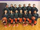 Harlingen South Hawks Girls Varsity Basketball Winter 17-18 team photo.