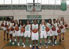 Cary Imps Girls Varsity Basketball Winter 17-18 team photo.