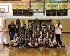 Rison Wildcats Girls Varsity Basketball Winter 17-18 team photo.