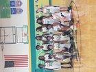 North Rowan Cavaliers Girls Varsity Basketball Winter 17-18 team photo.