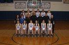 Simon Kenton Pioneers Girls Varsity Basketball Winter 17-18 team photo.