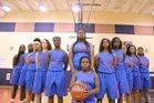 Palm Beach Gardens Gators Girls Varsity Basketball Winter 17-18 team photo.