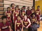Coconut Creek Cougars Girls Varsity Basketball Winter 17-18 team photo.