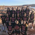 Page Sand Devils Girls Varsity Basketball Winter 17-18 team photo.