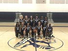 Walton Braves Girls Varsity Basketball Winter 17-18 team photo.