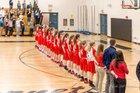 Pacelli Cardinals Girls Varsity Basketball Winter 17-18 team photo.