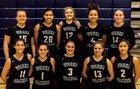 Weeki Wachee Hornets Girls Varsity Basketball Winter 17-18 team photo.