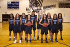 Grandview Wolves Girls Varsity Basketball Winter 17-18 team photo.