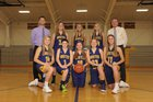 Onsted Wildcats Girls Varsity Basketball Winter 17-18 team photo.
