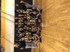 Pamlico County Hurricanes Girls Varsity Basketball Winter 17-18 team photo.