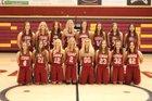 Cedar City Redmen Girls Varsity Basketball Winter 17-18 team photo.