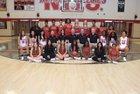 Northside Grizzlies Girls Varsity Basketball Winter 17-18 team photo.