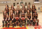 St. Francis Troubadours Girls Varsity Basketball Winter 17-18 team photo.