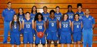 Riverview Sharks Girls Varsity Basketball Winter 17-18 team photo.