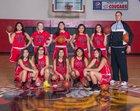 White Swan Cougars Girls Varsity Basketball Winter 17-18 team photo.
