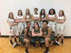 East Lincoln Mustangs Girls Varsity Basketball Winter 17-18 team photo.