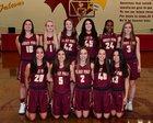 Torrey Pines Falcons Girls Varsity Basketball Winter 17-18 team photo.