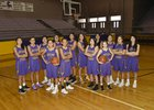 Kirtland Central Broncos Girls Varsity Basketball Winter 17-18 team photo.