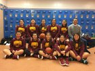 Rehoboth Christian Lynx Girls Varsity Basketball Winter 17-18 team photo.