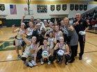 South Seneca Falcons Girls Varsity Basketball Winter 17-18 team photo.