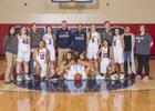 Eisenhower Cadets Girls Varsity Basketball Winter 17-18 team photo.