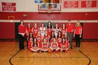 West Yellowstone Wolverines Girls Varsity Basketball Winter 17-18 team photo.