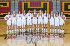 Centennial Hawks Girls Varsity Basketball Winter 17-18 team photo.