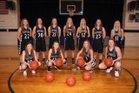 Oakesdale Nighthawks Girls Varsity Basketball Winter 17-18 team photo.