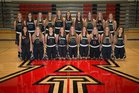 American Fork Cavemen Girls Varsity Basketball Winter 17-18 team photo.