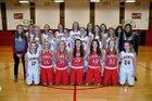 West Point-Beemer Cadets Girls Varsity Basketball Winter 17-18 team photo.