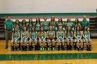 Hamilton County Foxes Girls Varsity Basketball Winter 17-18 team photo.