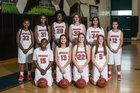 Plant City Raiders Girls Varsity Basketball Winter 17-18 team photo.