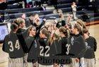 Greenville Comets Girls Varsity Basketball Winter 17-18 team photo.