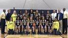 O'Fallon Panthers Girls Varsity Basketball Winter 17-18 team photo.