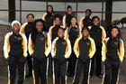 Swainsboro Tigers Girls Varsity Basketball Winter 17-18 team photo.
