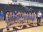 Lago Vista Vikings Girls Varsity Basketball Winter 17-18 team photo.