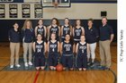 Tri-Cities Prep Jaguars Girls Varsity Basketball Winter 17-18 team photo.