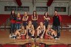 Nemo Vista Red Hawks Girls Varsity Basketball Winter 17-18 team photo.