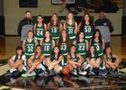 Youngker Roughriders Girls Varsity Basketball Winter 17-18 team photo.