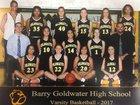 Goldwater Bulldogs Girls Varsity Basketball Winter 17-18 team photo.