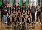 Kentwood Conquerors Girls Varsity Basketball Winter 17-18 team photo.