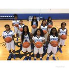 Howard Wildcats Girls Varsity Basketball Winter 17-18 team photo.