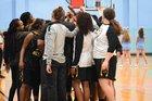 Forest Hills Yellow Jackets Girls Varsity Basketball Winter 17-18 team photo.