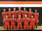 Napavine Tigers Girls Varsity Basketball Winter 17-18 team photo.